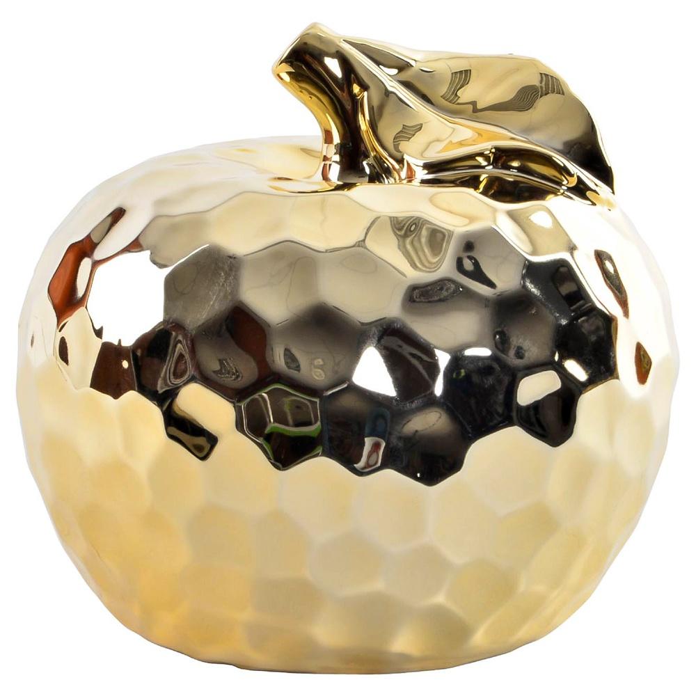 Статуэтка, RICH LINE Home Decor, *Золотое яблоко* / 16 см, ЗолотойFD-143771Данная статуэтка выполнена из керамики в виде яблока. Стильный дизайн позволит ей вписаться в любой интерьер и стать интересным подарком,