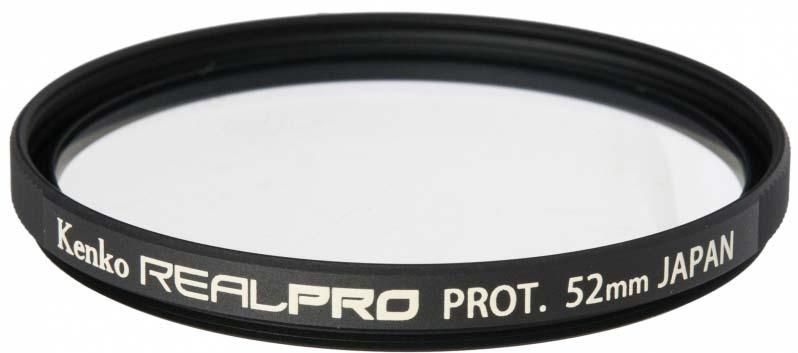 Светофильтр Kenko 52S Realpro Protector, 225277, 52 мм, защитный светофильтр kenko 55s realpro nd4 225576 55 мм нейтрально серый