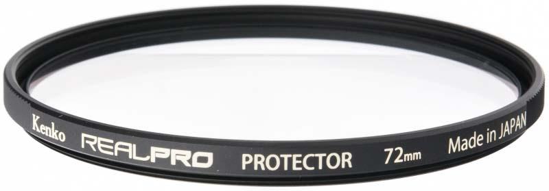 Светофильтр Kenko 72S Realpro Protector, 227277, 72 мм, защитный светофильтр kenko 55s realpro nd4 225576 55 мм нейтрально серый