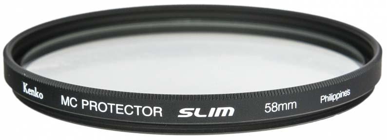 Светофильтр Kenko 58S MC Protector Slim, 235894, 58 мм, защитный