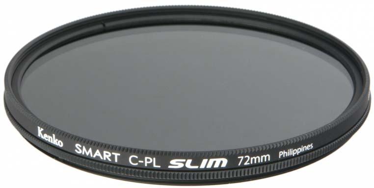 Светофильтр Kenko 72S C-PL Slim, 237295, 72 мм, поляризационный