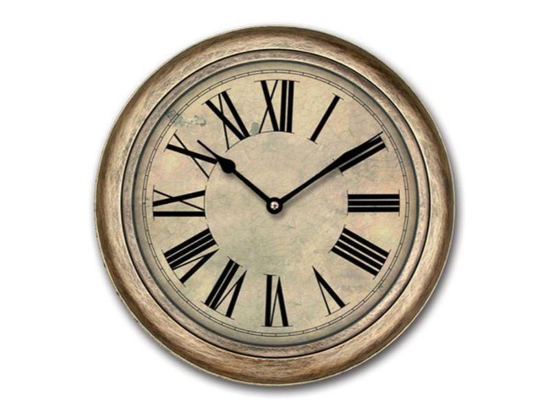 Настенные часы KC Часы настенные пластиковые 24.5*24.5*4 (1/20) KC QHF 6844