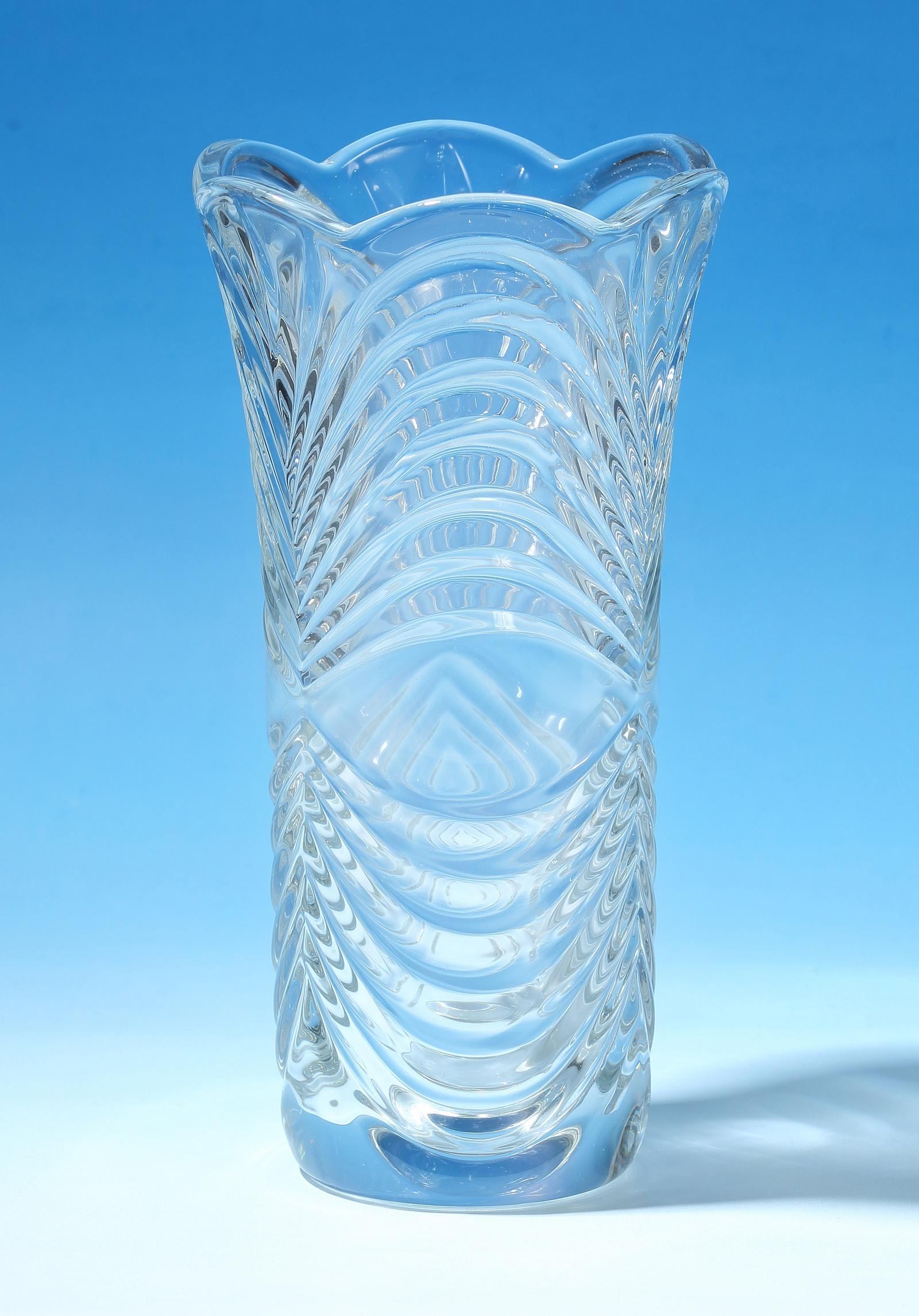 Ваза KC Ваза д/цветов 29,7см (1/8) KC XMHP-0430, 333-XMHP-0430, прозрачный ваза мастерпроф летний узор пластичная 1 л