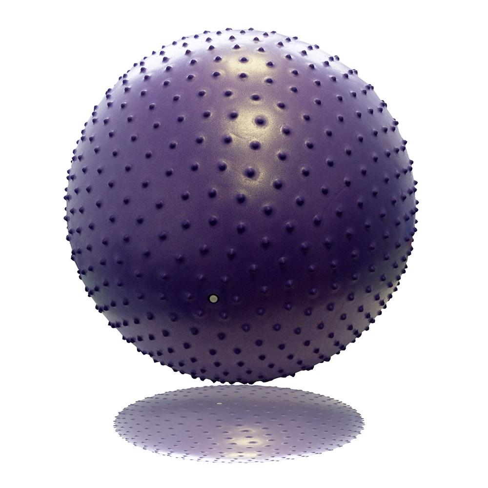 Гимнастический мяч с массажным эффектом 75 см мяч гимнастический togu myball soft 65 cм красный мяч гимнастический togu myball soft 65 cм
