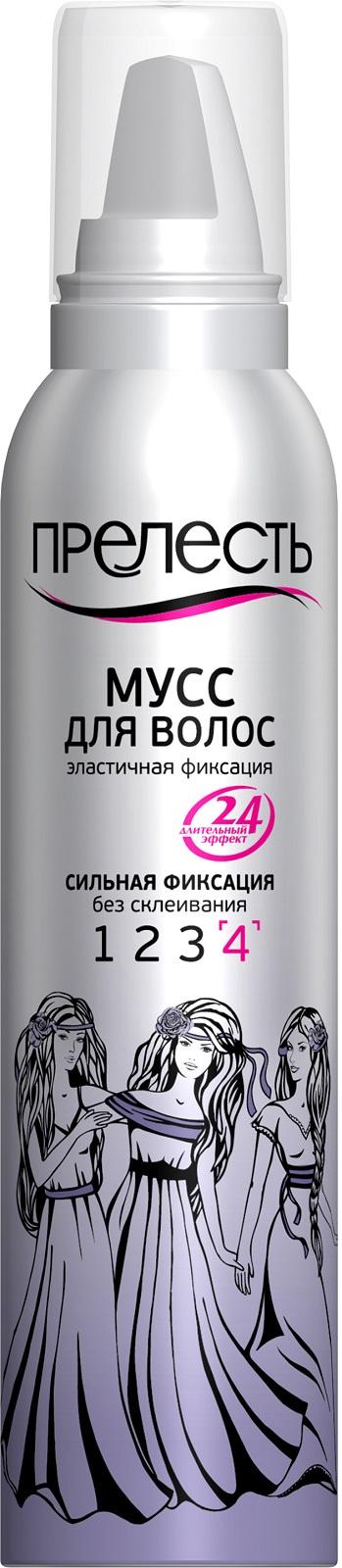 Мусс для волос Прелесть сильной фиксации, 160 мл для волос zhigpvest отзывы