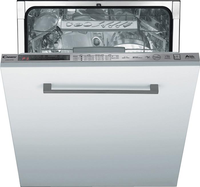 Посудомоечная машина Candy CDI 1DS673-07, 90000006763, встраиваемая, белый