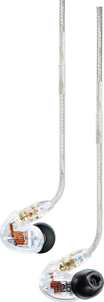 Наушники Shure SE425-CL, прозрачный вставные наушники philips she 8100 bl 00