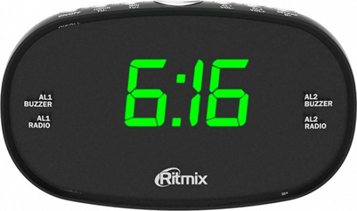 Радио будильник Ritmix RRC-616, black Ritmix