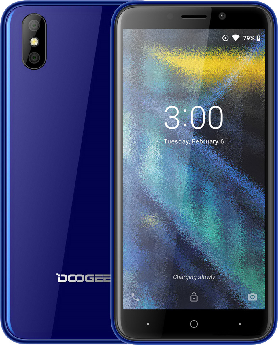 Смартфон Doogee X50L 1/16GB blue цена