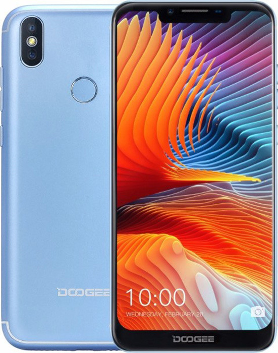 Смартфон Doogee BL5500 Lite 2/16GB blue смартфон doogee bl5500 lite gold