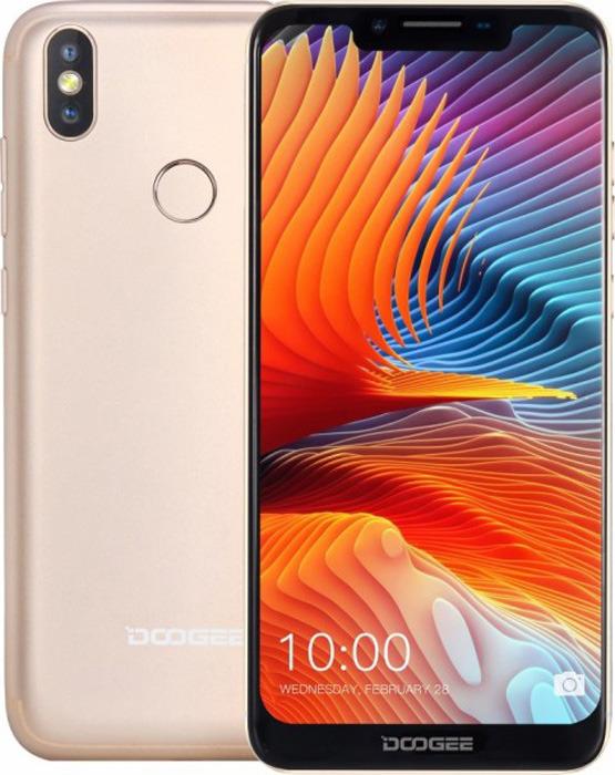 Смартфон Doogee BL5500 Lite 2/16GB gold смартфон doogee bl5500 lite gold