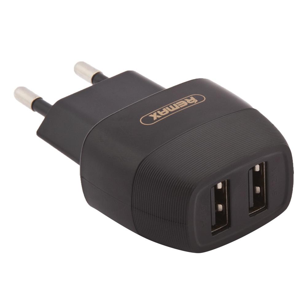 Сетевое зарядное устройство Remax Flinc Series RP-U29 2 USB 2,1А, Black зарядное устройство remax rp w6 grey