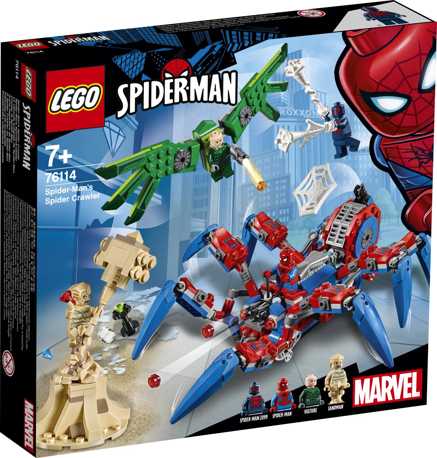 LEGO Super Heroes Marvel 76114 Паучий вездеход Конструктор конструктор игровой lego 76114 super heroes паучий вездеход