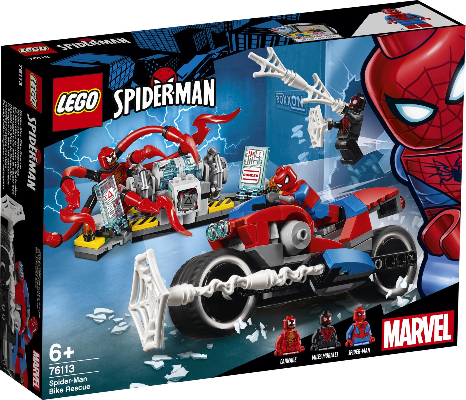 LEGO Super Heroes Marvel 76113 Спасательная операция на мотоциклах Конструктор