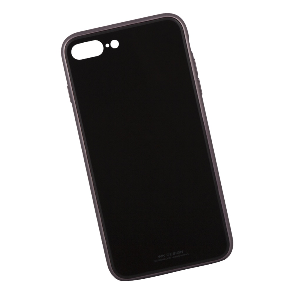 Чехол WK Berkin для iPhone 8 Plus/7 Plus, 0L-00036225, черный цена и фото