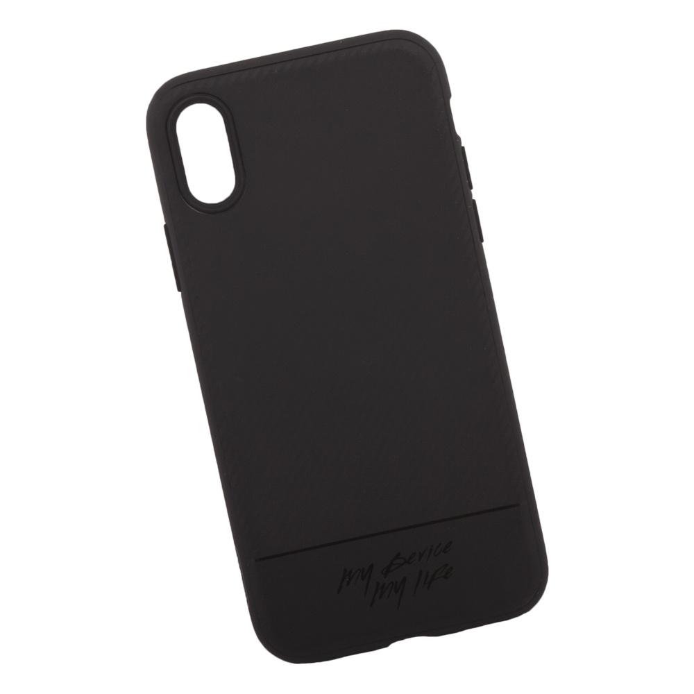 Чехол Remax Vigor RM-1632 для iPhone X, 0L-00036126, черный