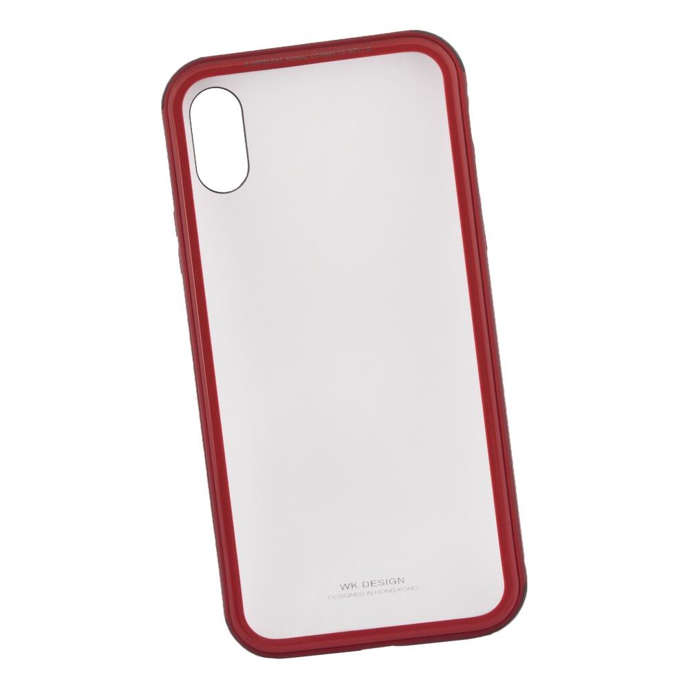 Чехол WK Kingkong для iPhone X, 0L-00035642, красный все цены