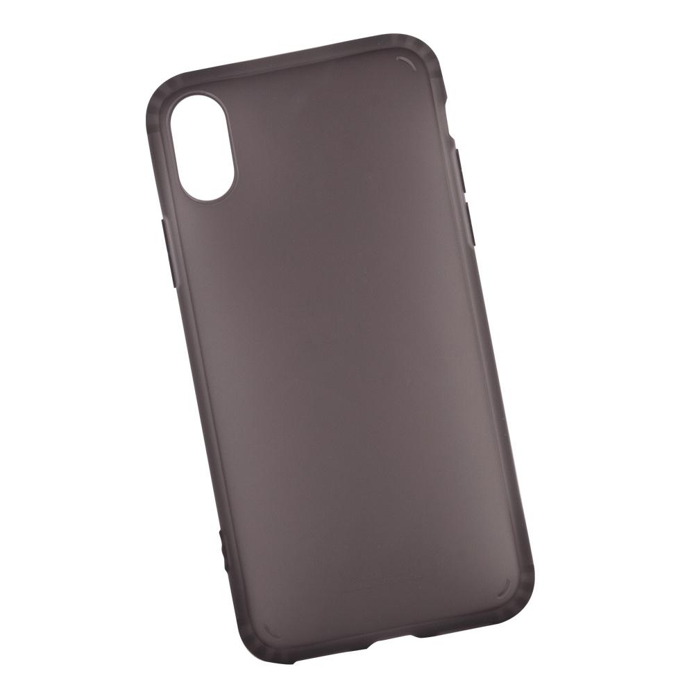 Чехол WK Leclear для iPhone X, 0L-00034827, черный все цены