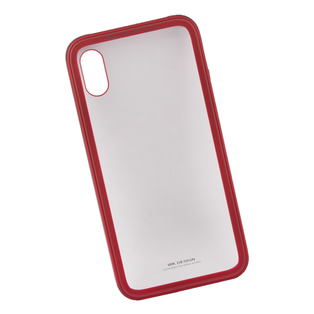 Чехол WK Kingkong для iPhone X, 0L-00035638, красный