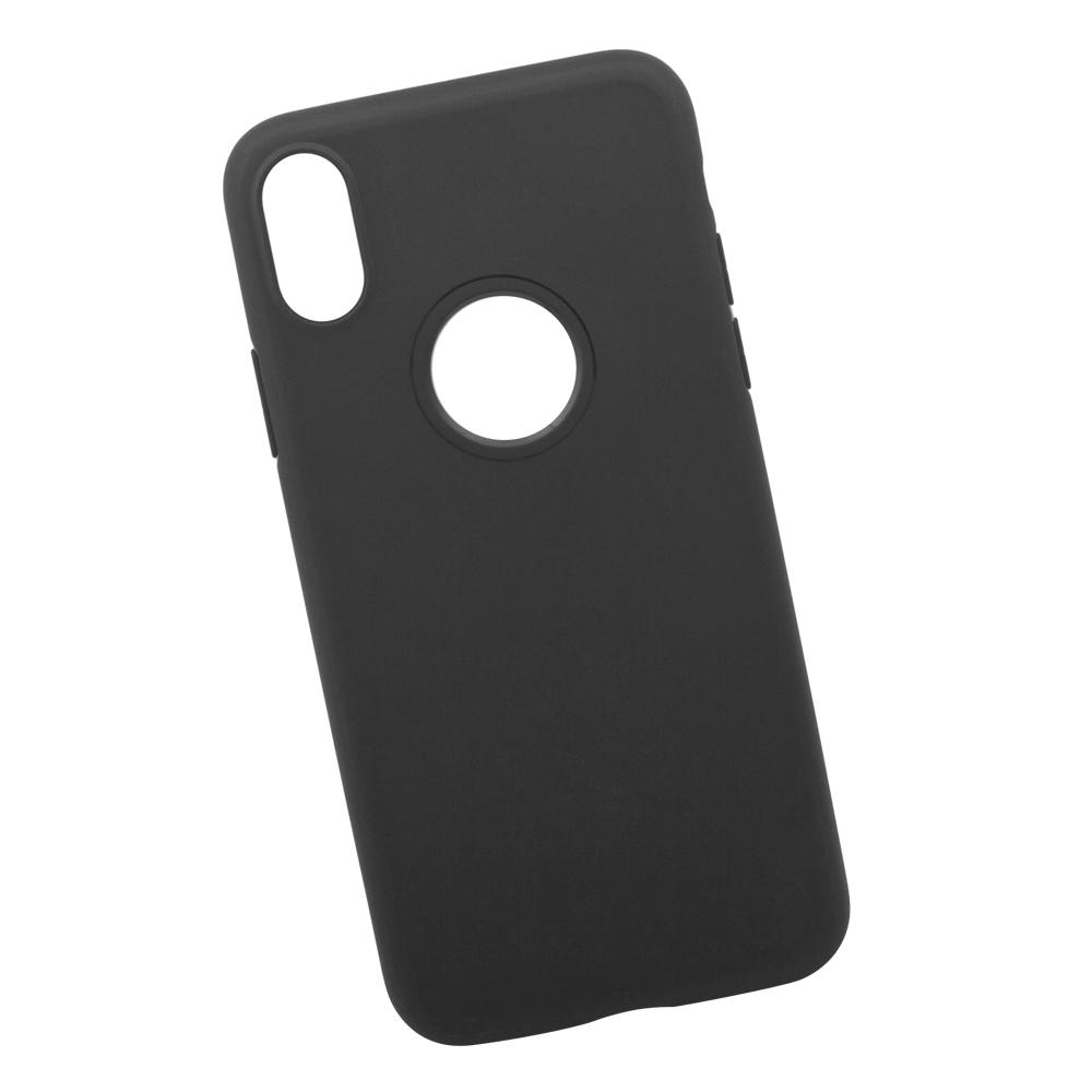 Чехол Hoco Fascination для iPhone X, 0L-00034112, черный мобильный телефон lg x power 2 m 320 золотистый