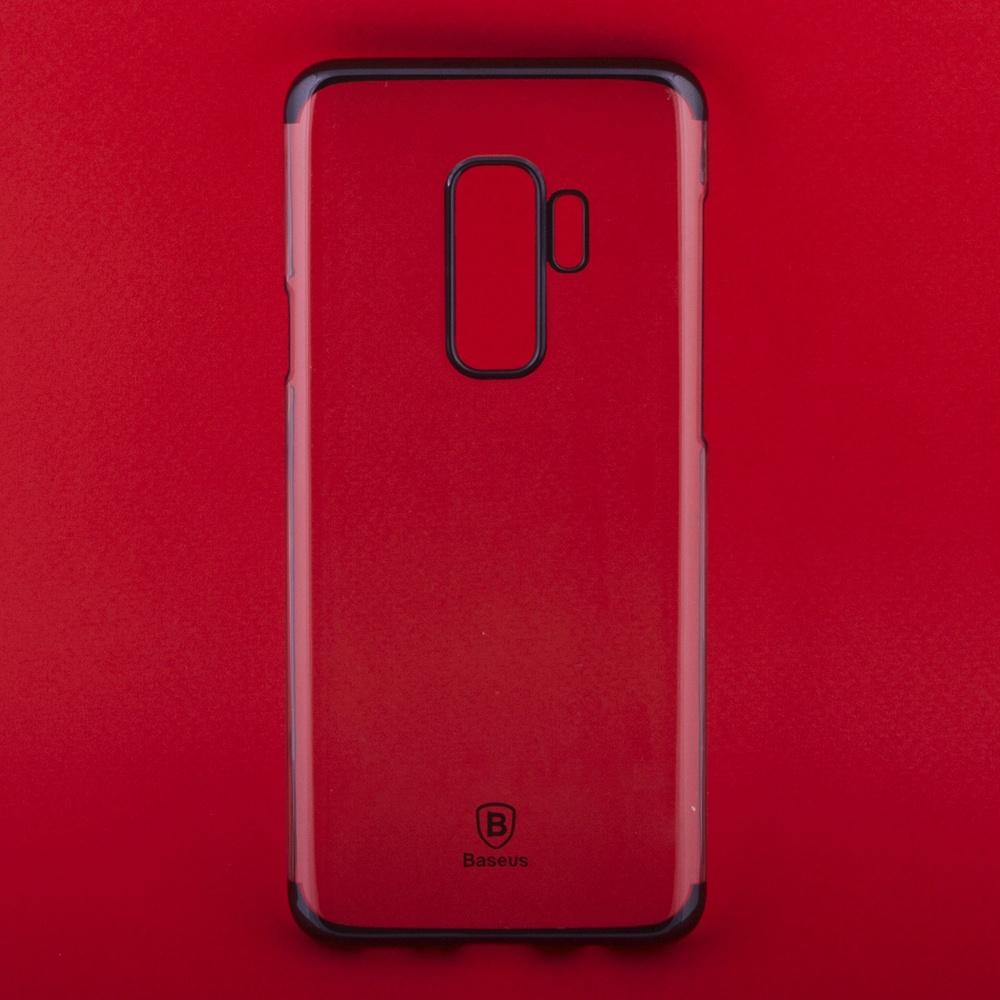 Чехол Baseus Glitter WISAS9P-DW01 для Samsung Galaxy S9 Plus, 0L-00037771, прозрачный чехол baseus simple arsas9 02 для samsung galaxy s9 0l 00037774 прозрачный