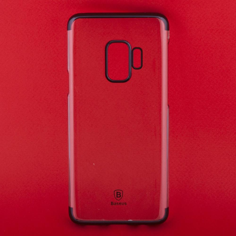 Чехол Baseus Glitter WISAS9-DW01 для Samsung Galaxy S9, 0L-00037770, прозрачный чехол baseus simple arsas9 02 для samsung galaxy s9 0l 00037774 прозрачный
