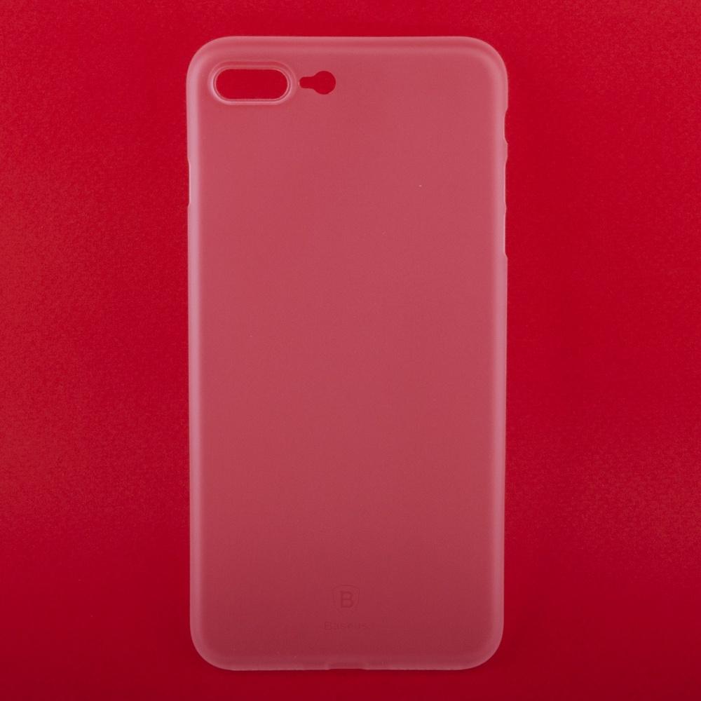 Чехол Baseus Wing WIAPIPH7P-E02 для iPhone 7 Plus/8 Plus, 0L-00037779, прозрачный времена мышления baseus iphone7 телефон оболочки защитный рукав тонкий жесткий оболочки мобильный телефон оболочки apple 7 через черный