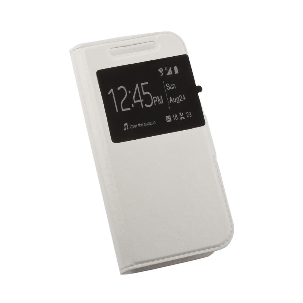 Чехол Liberty Project раскладной универсальный для телефонов размером L 12х5.6 см, 0L-00002569, белый