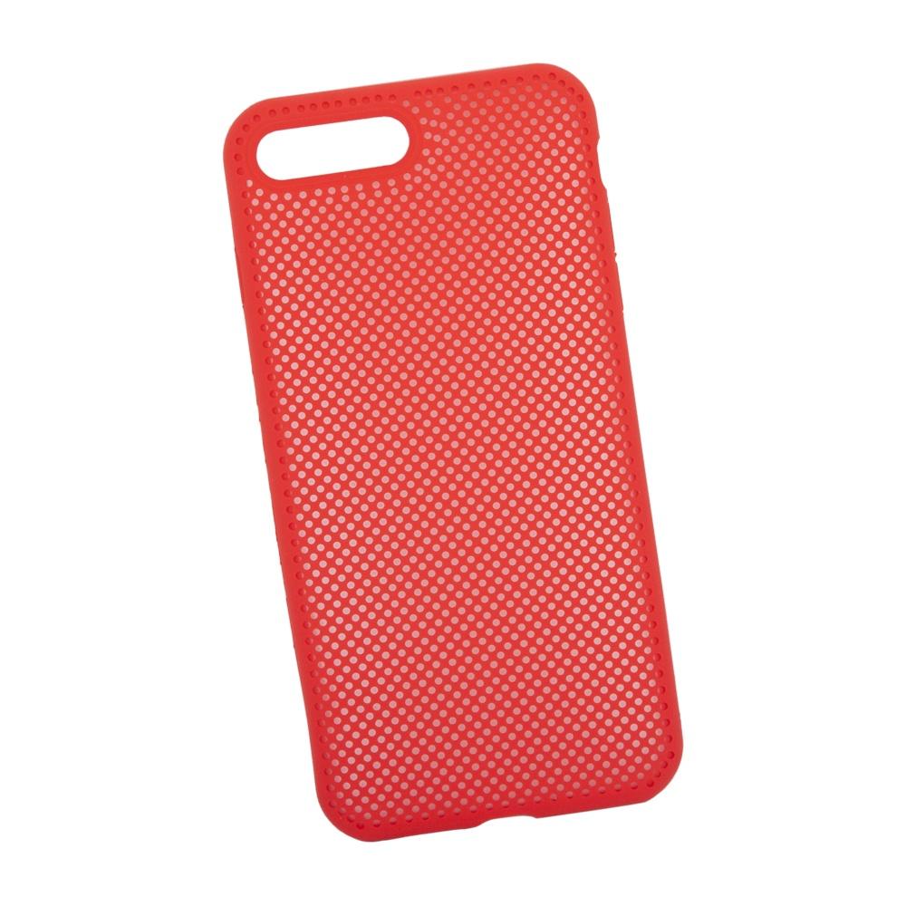 Чехол Liberty Project Dot для iPhone 7 Plus/8 Plus, 0L-00040404, красный цена и фото