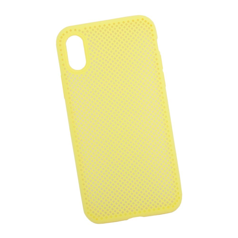 Чехол силиконовый LIBERTY PROJECT, для iPhone X Silicone Dot Case, 0L-00040411, желтый toptoys игрушечный мобильный телефон цвет желтый