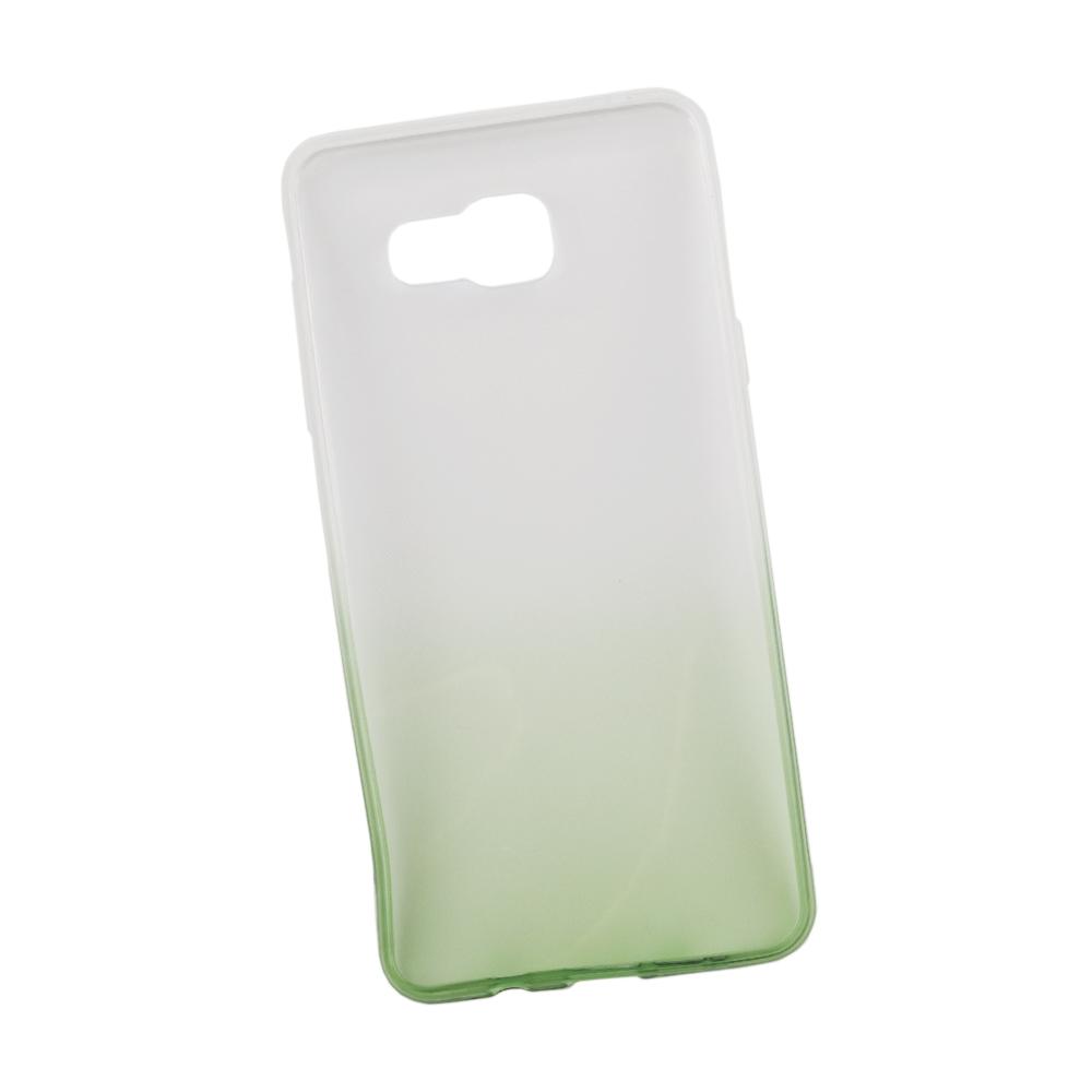 Чехол силиконовый LIBERTY PROJECT, для Samsung Galaxy A5 2016, 0L-00027393, белый, зелёный бесплатный шаблон мягкий чехол тонкий тпу резиновый силиконовый гель чехол для samsung galaxy a5 2016 a510