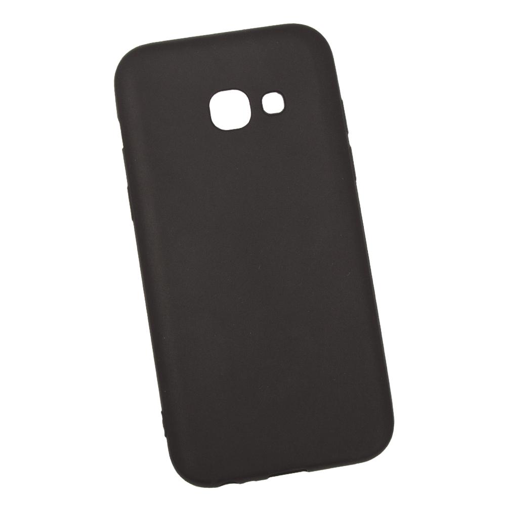 Чехол силиконовый LIBERTY PROJECT, для Samsung Galaxy A3 2017 TPU, 0L-00031522, черный чехол для nokia x2 силиконовый tpu черный конфеты