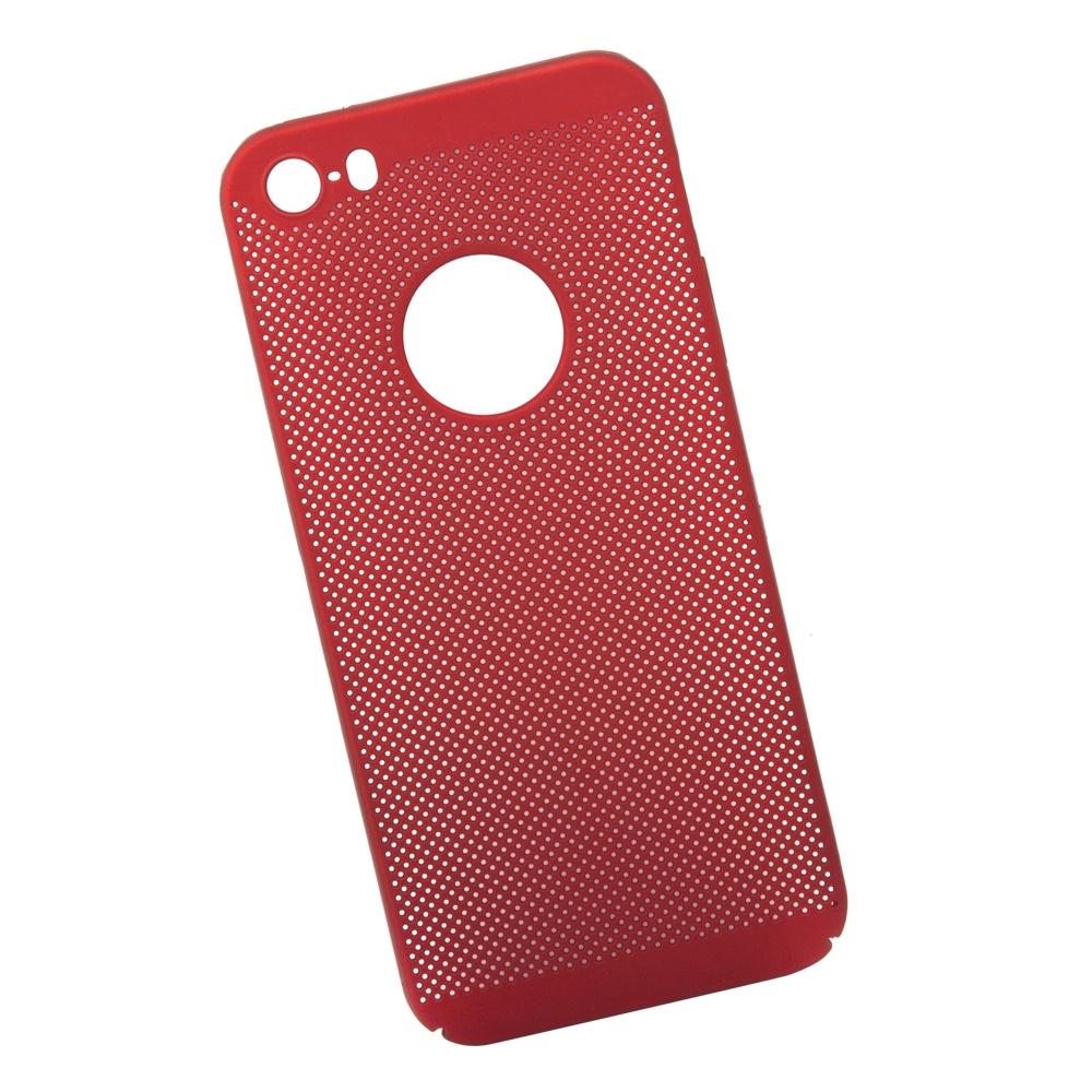 Чехол Liberty Project Сетка Soft Touch для iPhone 5/5s/SE, 0L-00034042, красный телефон iphone 5