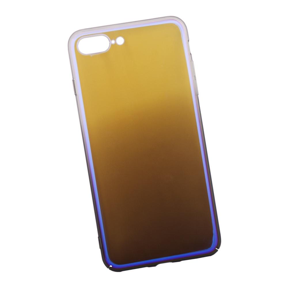 Чехол Liberty Project Градиент для iPhone 8 Plus/7 Plus, 0L-00034191, прозрачный, фиолетовый аксессуар защитная крышка liberty project для apple iphone 8 7 градиент transparent purple 0l 00034188