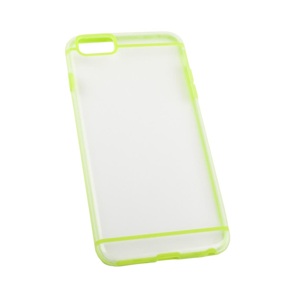 Чехол LP для iPhone 6/6s Plus, R0006704, желтый, матовый toptoys игрушечный мобильный телефон цвет желтый