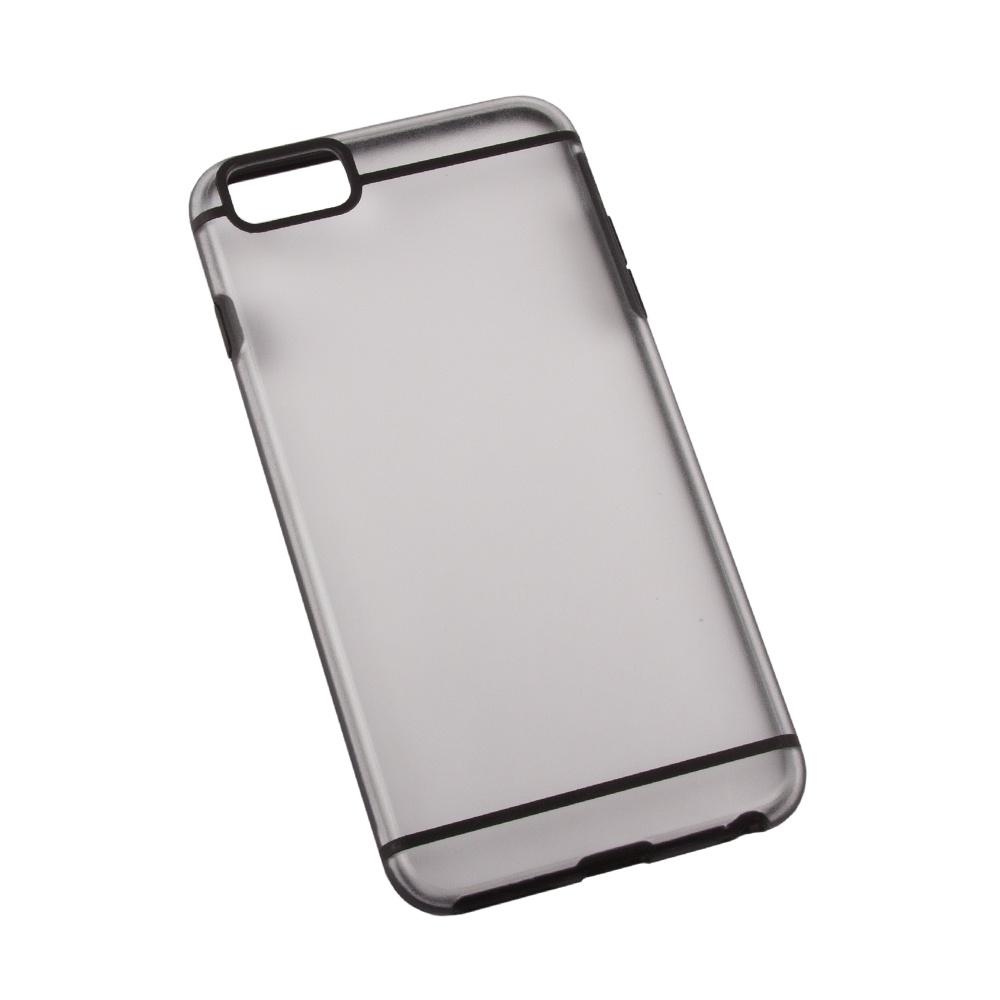 Чехол LP для iPhone 6/6s Plus, R0006702, черный, матовый все цены
