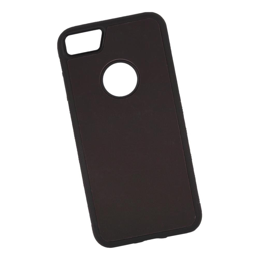 Фото - Чехол LP для iPhone 8/7, 0L-00038598, коричневый, розовый накладка lp клетка с полосками для iphone 7 золотой 0l 00029551