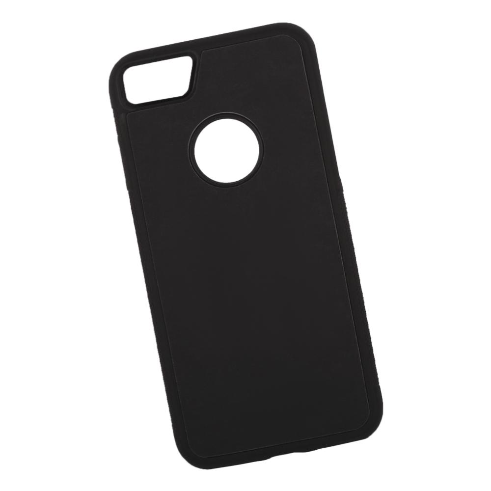 Фото - Чехол LP для iPhone 8/7, 0L-00038597, черный, голубой накладка lp клетка с полосками для iphone 7 золотой 0l 00029551
