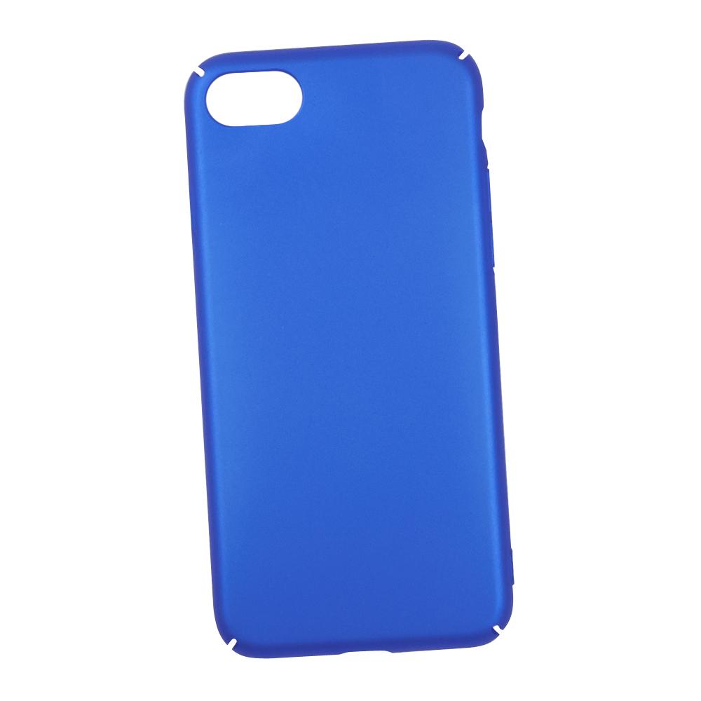 Фото - Чехол LP для iPhone 8/7, 0L-00030613, синий накладка lp клетка с полосками для iphone 7 золотой 0l 00029551