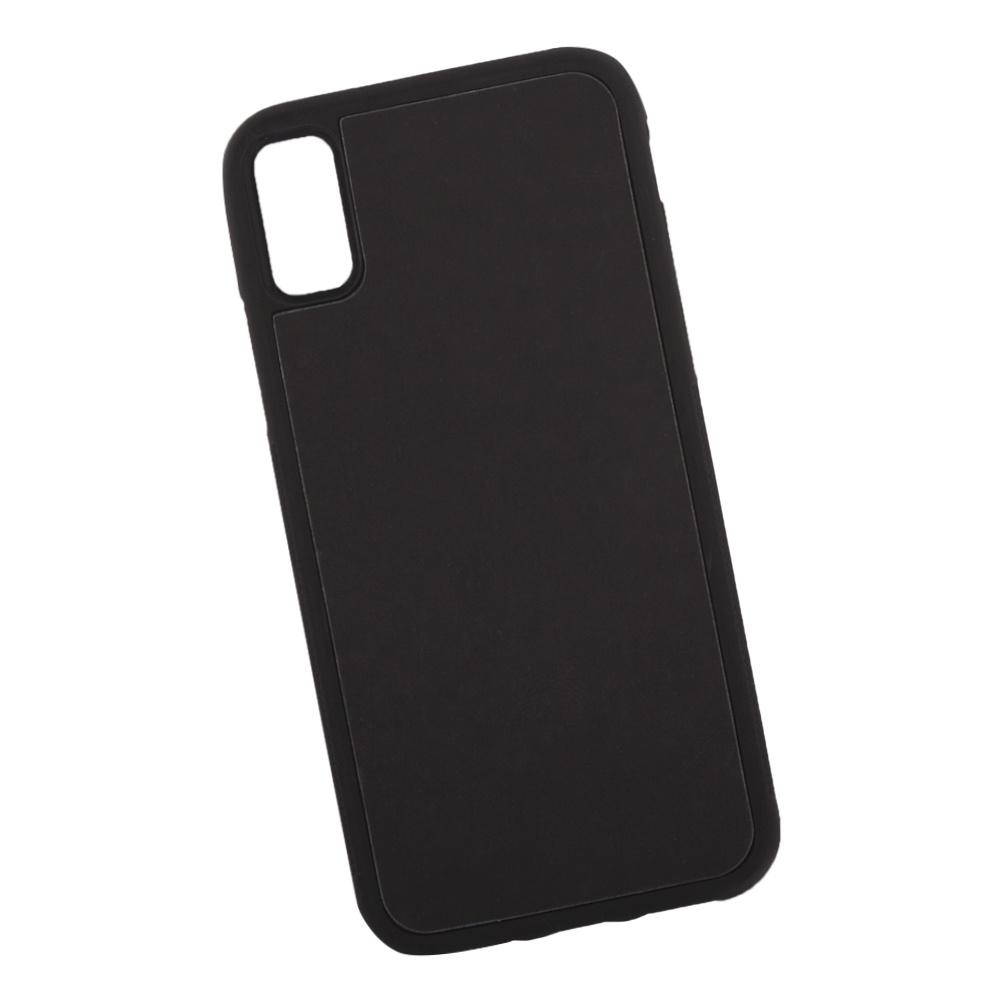 Чехол LP для iPhone X, 0L-00038607, черный, голубой чехол lp для iphone x 0l 00038608 коричневый розовый