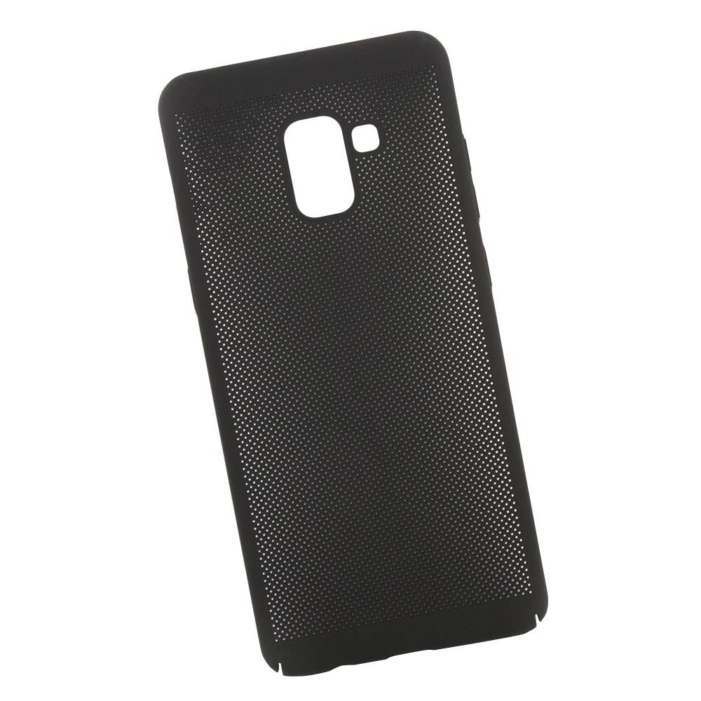 Чехол LP для Samsung A8+ (A730), 0L-00036750, черный