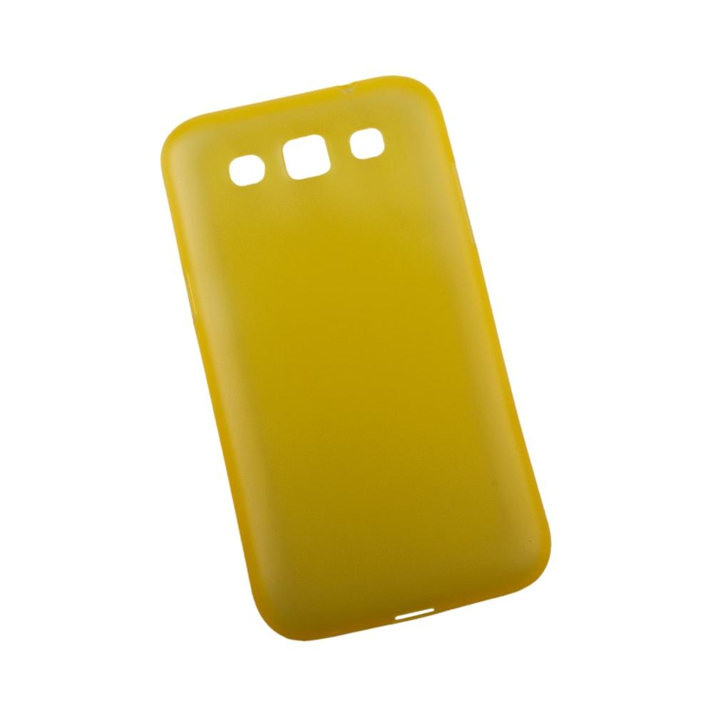 Чехол LP для Samsung i8552 Galaxy Win, R0003179, желтый, матовый toptoys игрушечный мобильный телефон цвет желтый