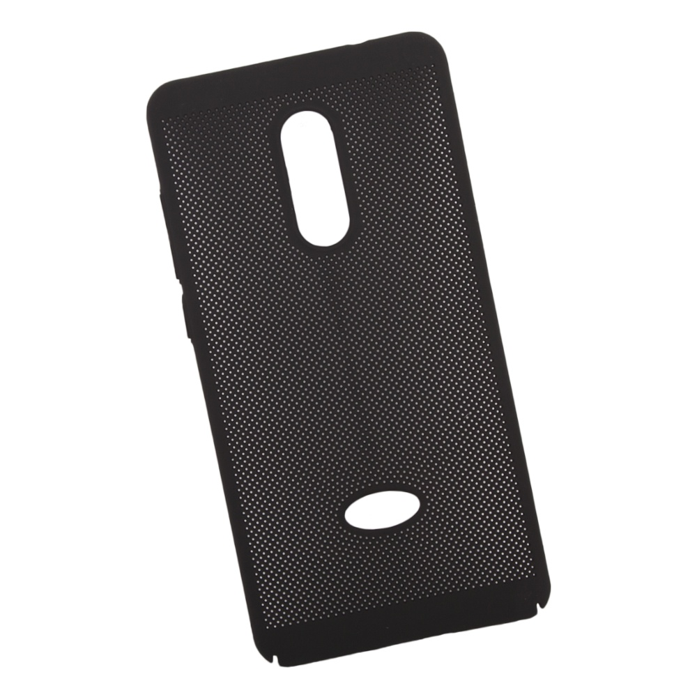 Чехол LP для Xiaomi Redmi Note 4, 0L-00035154, черный цена и фото