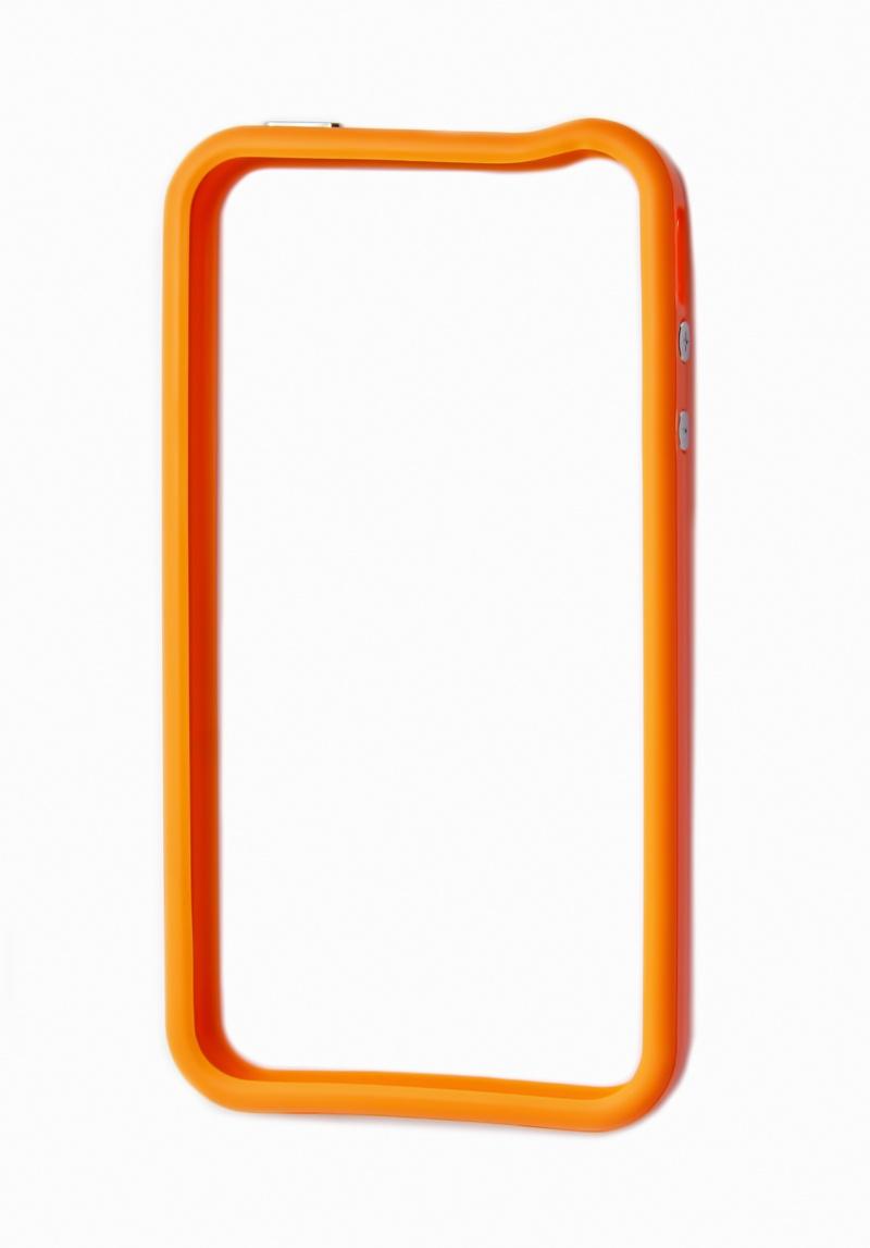 Чехол-накладка LIBERTY PROJECT, Bumpers для iPhone 4/4S, CD020792, оранжевый телефон iphone 4