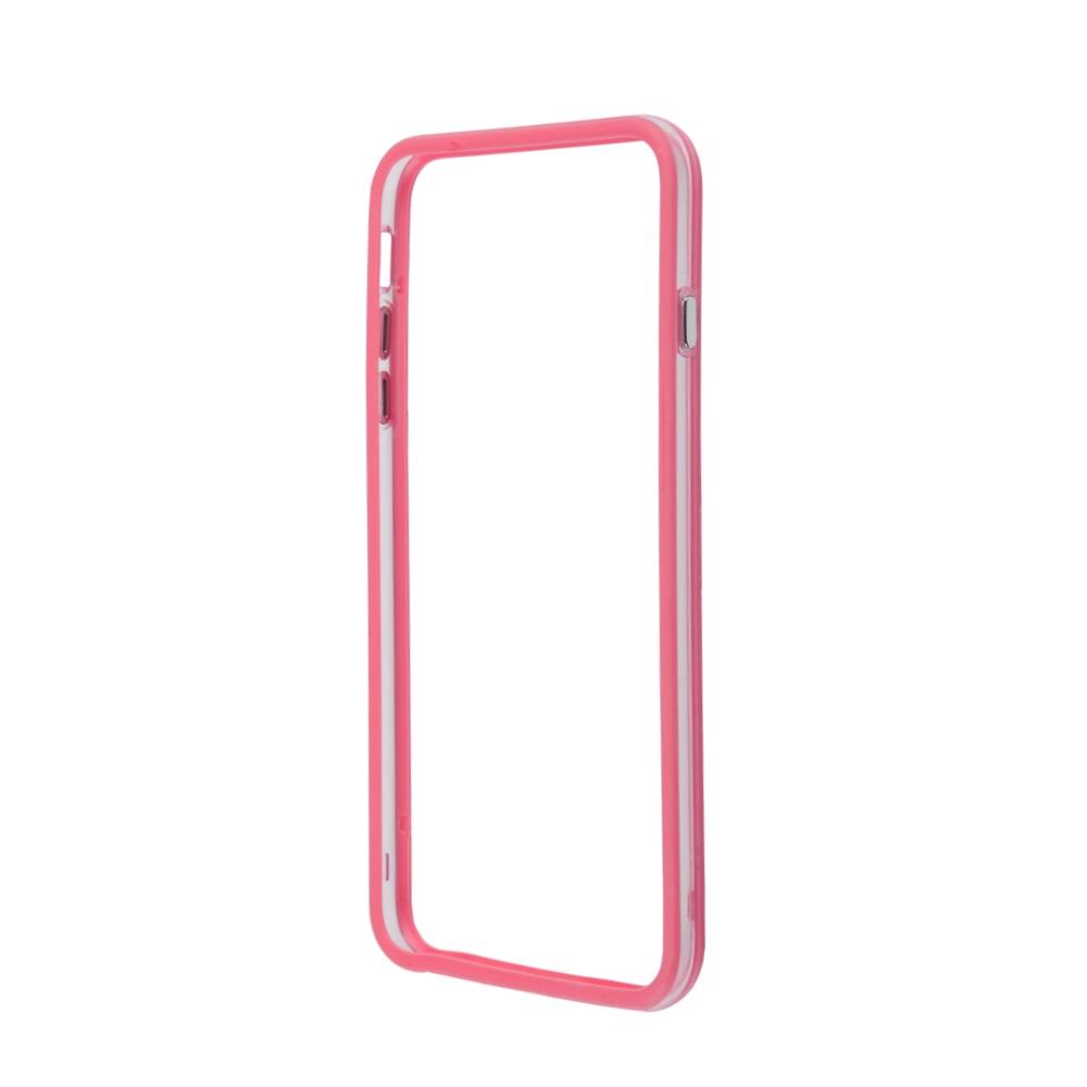 Чехол-накладка LIBERTY PROJECT, Bumpers для iPhone 6/6s Plus, R0006383, розовый чехол liberty project термо радуга для iphone 6 6s коричневый розовый