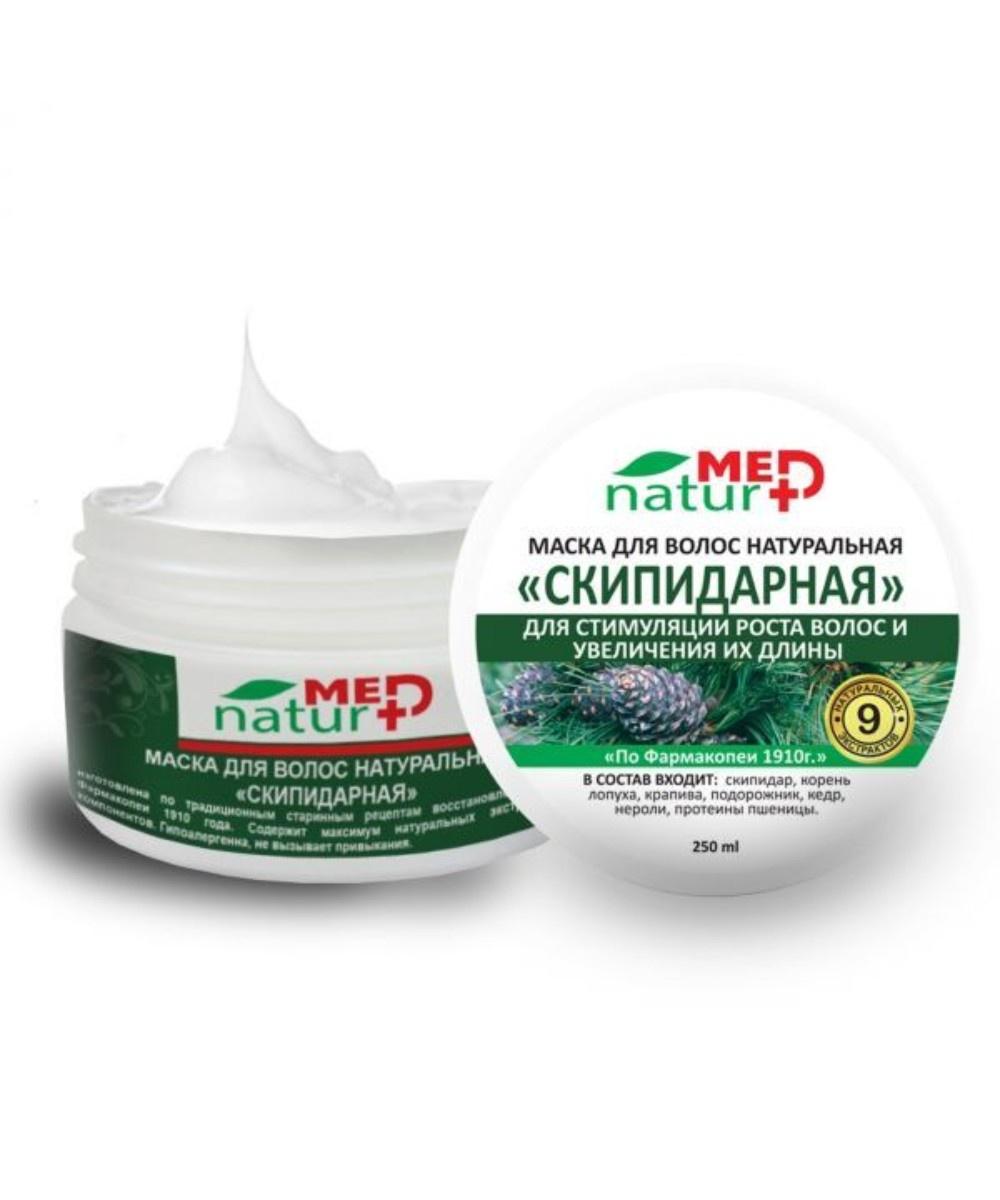 """Маска для волос Натуротерапия """"Скипидарная"""", 250 мл"""