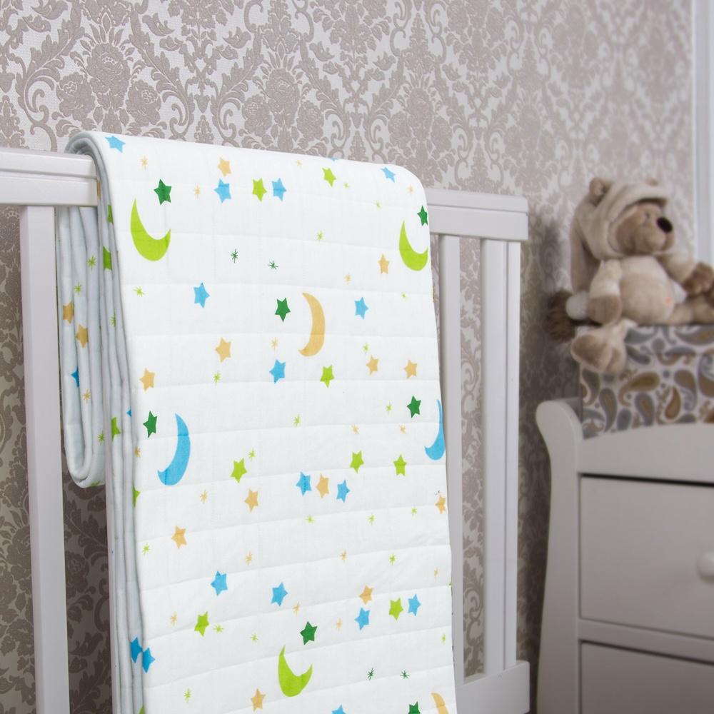 Детское одеяло-покрывало Rich Line Home Decor Ночка, белый, 140х200 см ртутный домашний текстиль mercury постельные принадлежности хлопок хлопок хлопок аккумуляторная бумага одеяло покрывало малый flyer double 1 5m bed