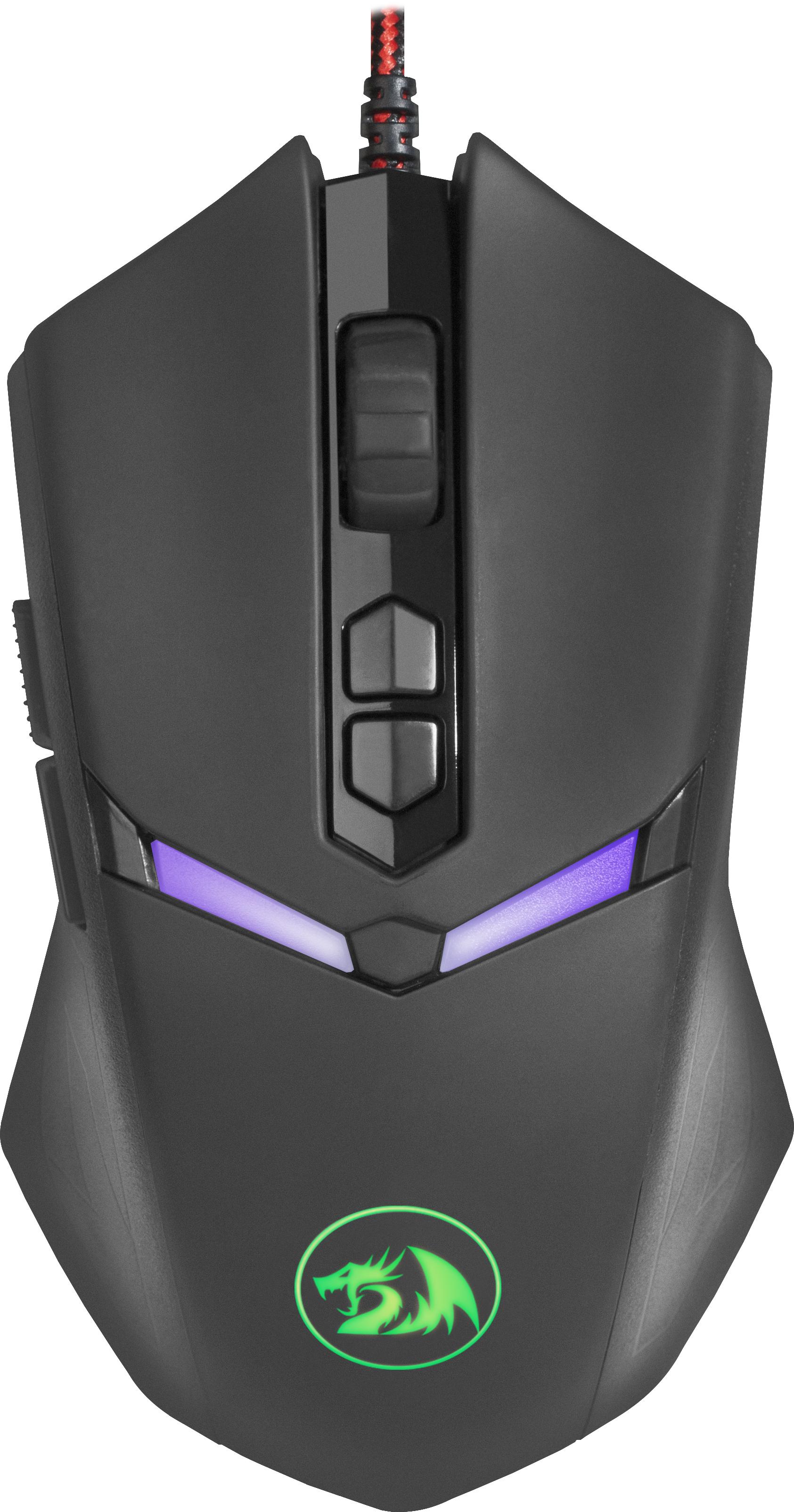 Игровая мышь Redragon Nemeanlion 2 оптика,RGB,7200dpi, 70438, черный