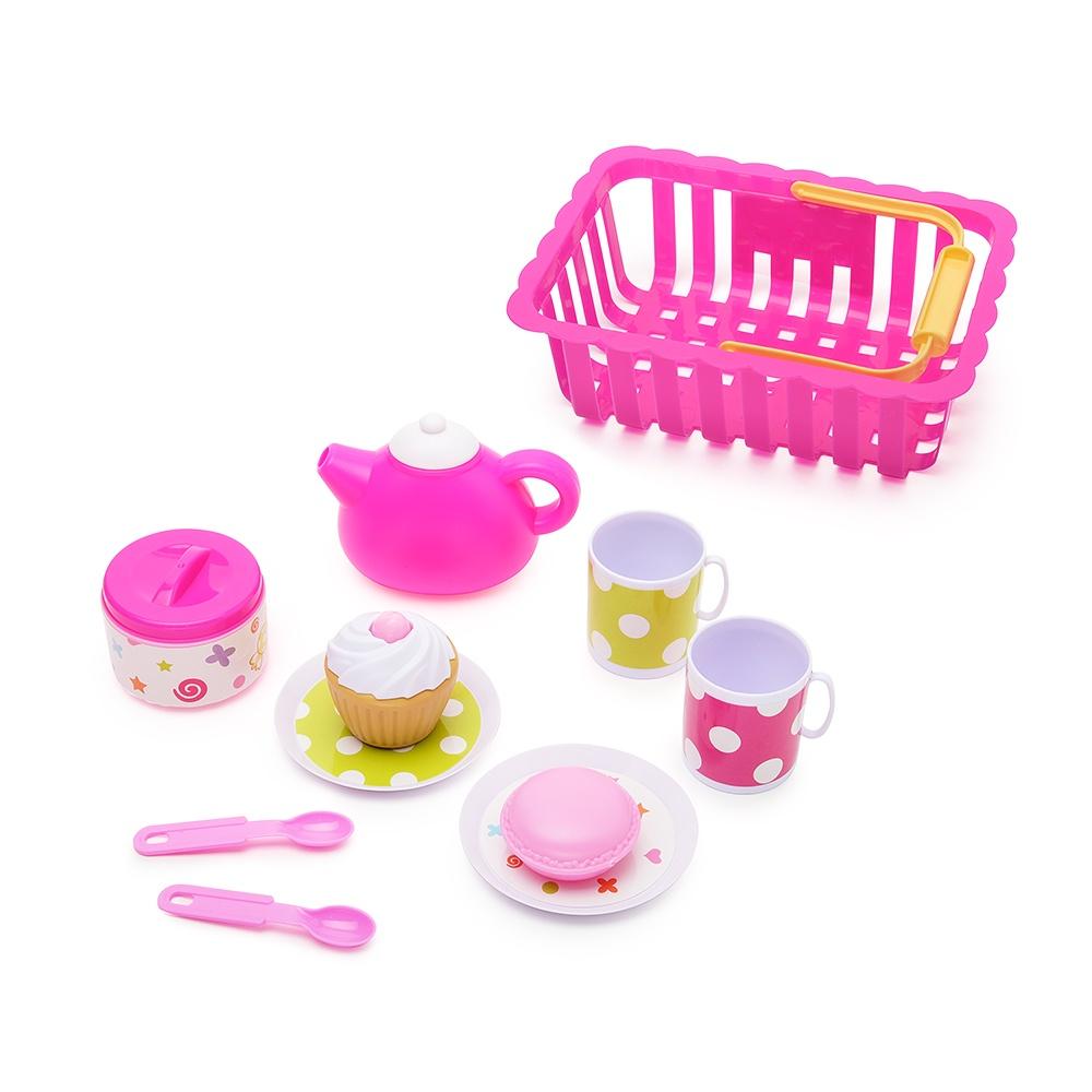 Игровой набор FindusToys чаепитие игровой набор с куклой findustoys infant doll fd 35 008 1 фиолетовый
