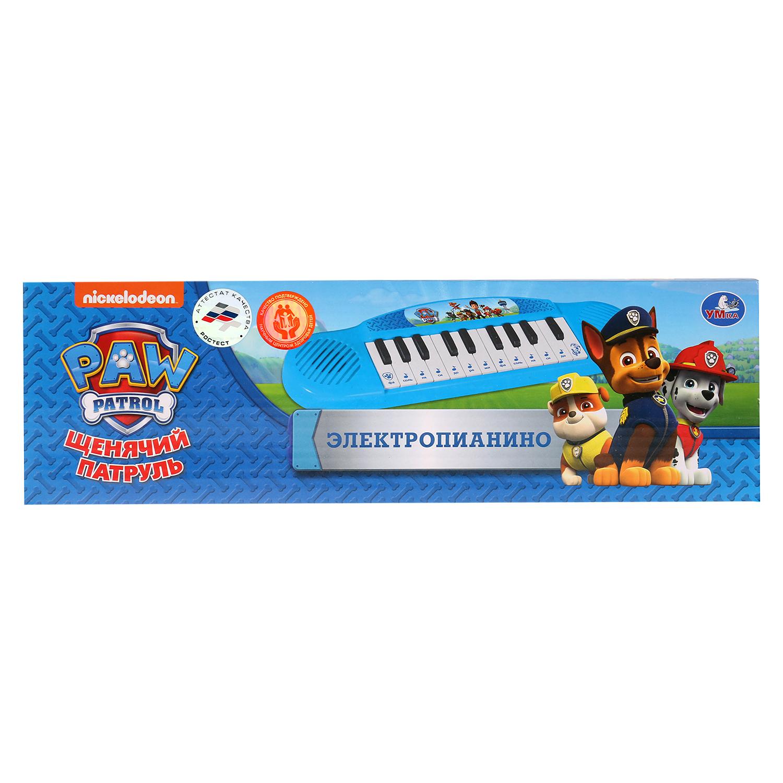 Электропианино Умка, 259842 набор музыкальных инструментов nickelodeon щенячий патруль